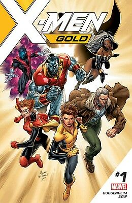 X Men Gold  1 Cover A  First Printing
