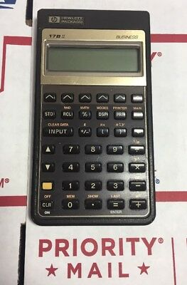Vintage Hp 17bll Financial Calculator - Hewlett-packard - 100 Warranty