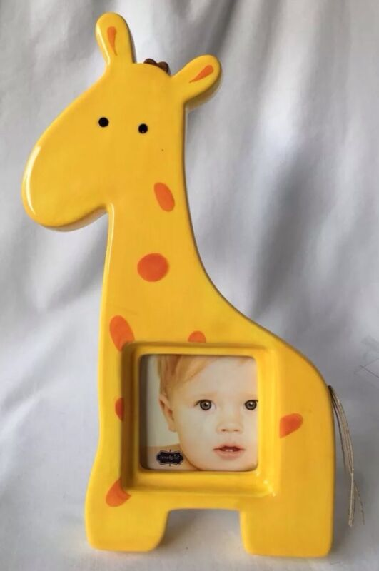 Mud Pie Giraffe Photo Frame