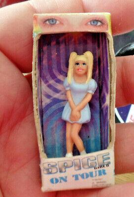 MINIATURE BOXED DOLL BABY SPICE EMMA BUNTON SPICE GIRLS  ON TOUR VINTAGE 90's