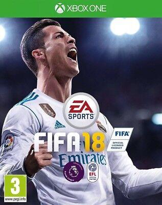 FIFA 18 (Xbox One) UK PAL Quick Dispatch Free UK Shipping
