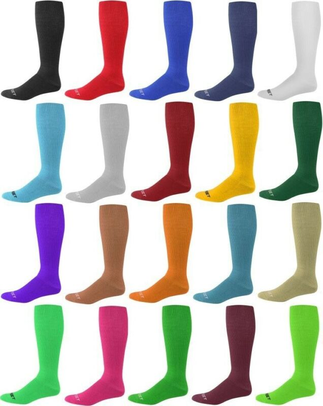 Pro Feet Multi Sport Sock Team Soccer Baseball Softball All Athletic Knee Socks