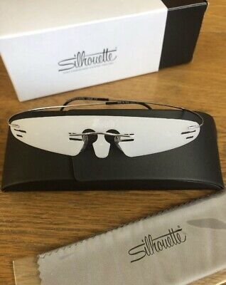 Silhouette Optical Eyeglasses Frames 5515/70 7010 21/60 Sterling Silver TMA (Silhouette Optical Frames)
