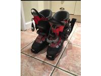 Salomon ski boots 24.5 (uk 5.5)