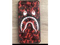 Bape case for iphone 6s plus