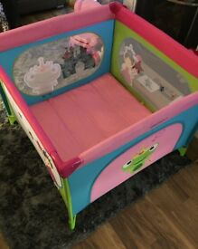 Girly princess themed playpen