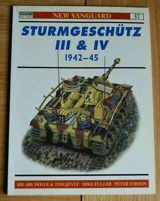 Osprey New Vanguard 37 Stug Sturmgeshutz III & IV 1942-45