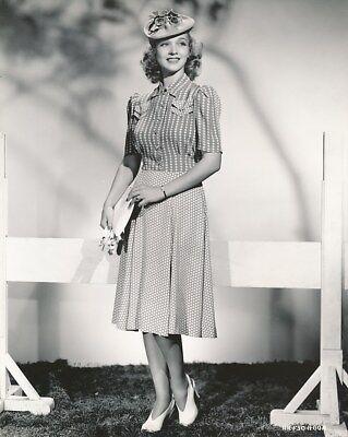 CAROLE LANDIS Beautiful ORIGINAL Vintage 1939 Hal Roach FASHION Portrait Photo