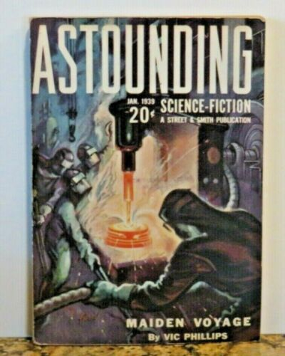 Astounding Science Fiction - January 1939 - Vol.22  No.5  - A Nice Copy