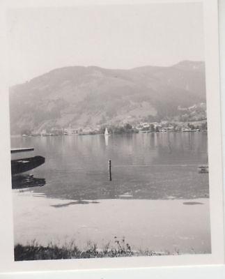 (F16490) Orig. Foto Tummersbach, Blick über den See 1944