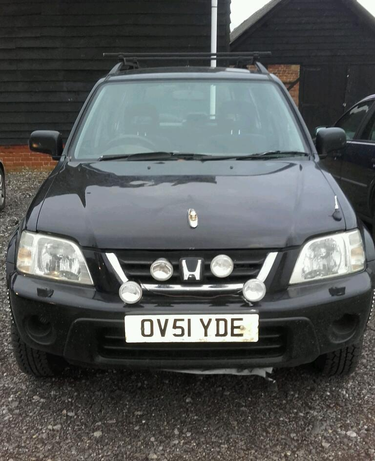 Honda crv 4x4 perfect for export or off roading