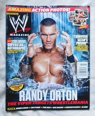 WWE MAGAZINE February 2012 Randy Orton