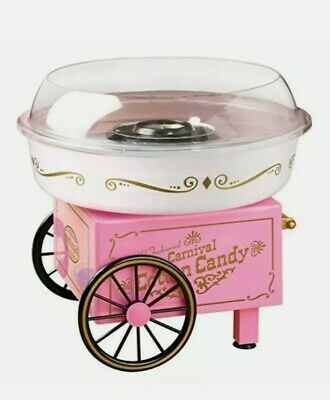 Nostalgia Electrics Pink Cotton Candy Maker Machine Nib