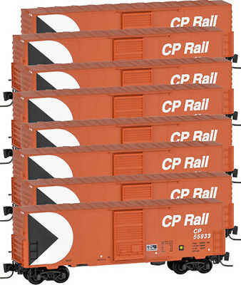 Micro-Trains MTL Z-Scale 40ft Box Cars Canadian Pacific/CP Rail Runner 8-Pack for sale  Shipping to Canada