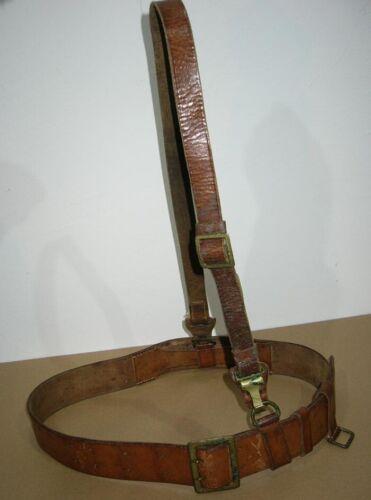 Rare WWII Luger belt German ally combat officer