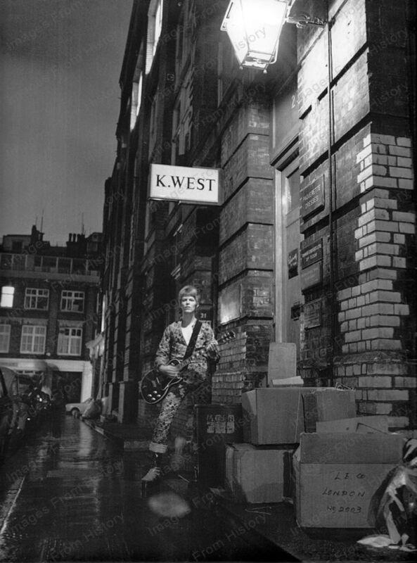 8x10 Print David Bowie London 1968 #DB28