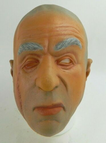 Cinema Secrets 1998 Vintage Dr. Evil from Austin Powers Halloween Mask Costume