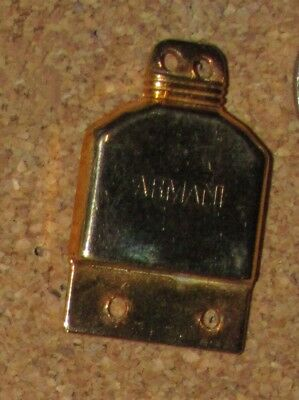 D28 PIN PINBACK CLASP PERFUME PARFUN ARMANI PARIS  FREE SHIP ON ADD PINS (Armani Add)