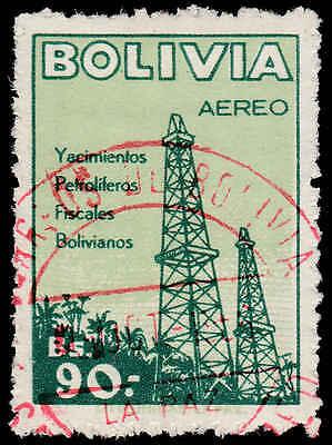 Scott # C184 - 1955 - ' Oil Derricks '