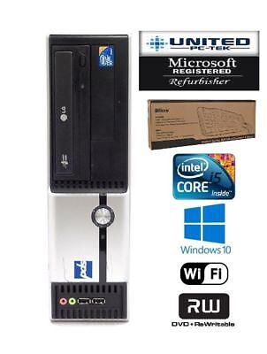 Pds Desktop Pc Windows 10 Core I5 Quad Core 4Gb 8Gb 500Gb Dvdrw Wifi
