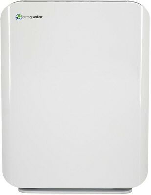 GermGuardian Air Purifier 3 Speed True HEPA Quiet Mid Size Console White New