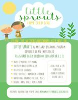 Westboro/Hintonburg - Little Sprouts Home Child Care