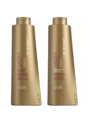 Joico K Pak Color Therapy Shampoo and Conditioner Liter Size Duo 1 L/33.8