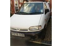 Nissan Vanette, MOT nearly 6 months left, low miles, very good condition waiting for his new owner