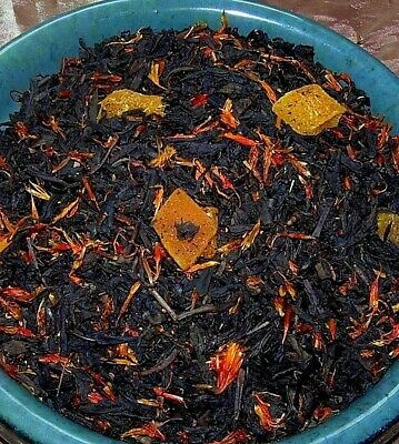 Tea Strawberry Peach & Lemon Spice Adagio Black Loose Leaf Fruit Aged Fruity CB