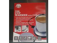 Usb cup warmer. Unwanted gift
