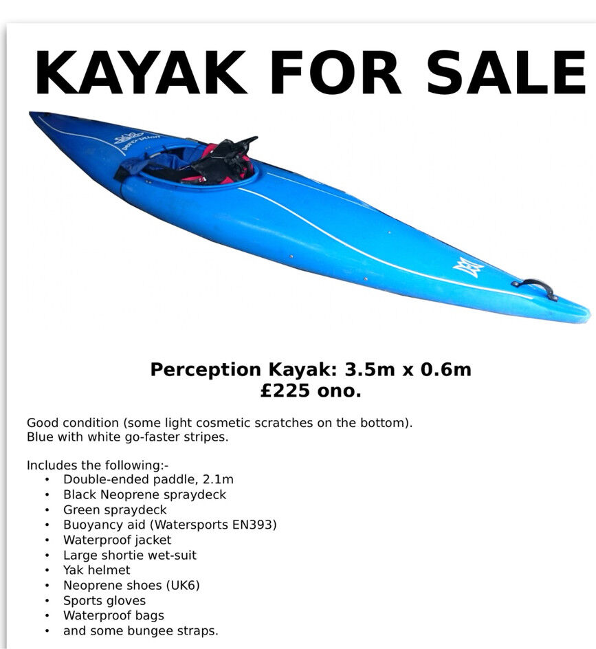 Kayak | in Plymouth, Devon | Gumtree