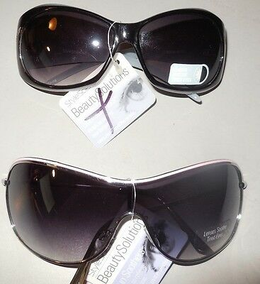 Sunglasses 2 Pair Retails $39.98 Style Science Sun Soothers Beauty Solutions (Solution Sunglasses)