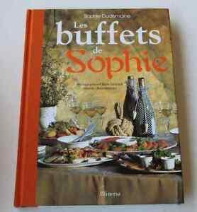 beau livre cuisine buffets de sophie sophie dudemaine editions minerva 2002 ebay. Black Bedroom Furniture Sets. Home Design Ideas