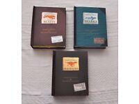 3x Encyclopedia prehistorica DINOSAURS SHARKS MEGA-BEASTS Pop-up Books SABUDA