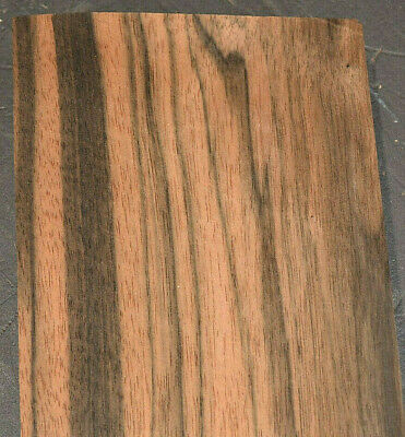 Macassar Ebony Raw Wood Veneer Sheets 4 X 31 Inches 1/42nd Thick 7679-49 - $10.99