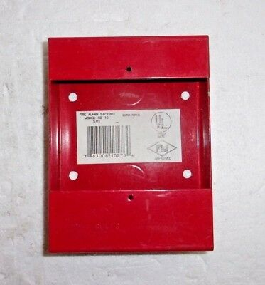 Fire Lite Backbox Sb 10 S711 New No Box