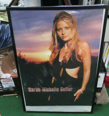 SARAH MICHELLE GELLAR POSTER  NEW EARLY 2000S VINTAGE COLLECTIBLE BUFFY