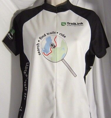 Ride Print Jersey - Women's Cycling Jersey TrailLink Printed Graphics Find Trails & Ride Primal L
