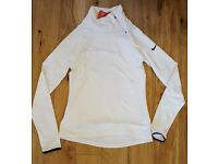 Nike womens pro warm running/workout top size M