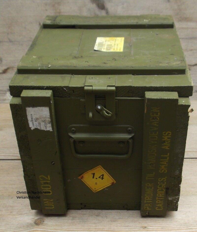 Orig. Armee Munitionskiste Holzkiste Transportbox Werkzeugkiste Transportkiste