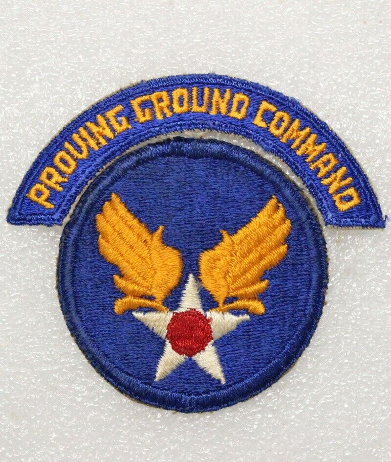 Army Air Corps Patch: Proving Ground Command - patch & tab set