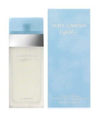 Light Blue by Dolce & Gabbana Perfume For Women 3.3 fl oz EDT Brand New & Sealed