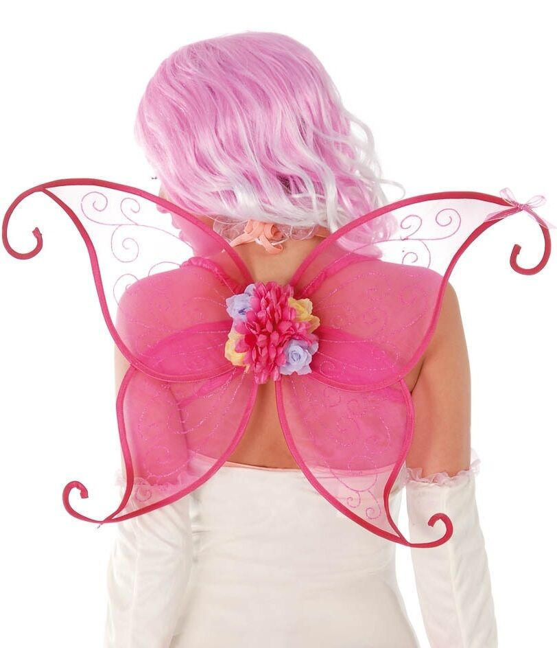 Pink Fairy Ladies Fancy Dress Costume
