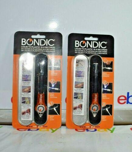 Lot of 2 Bondic Repair Anything 100% Non Toxic Liquid Plastic Welder