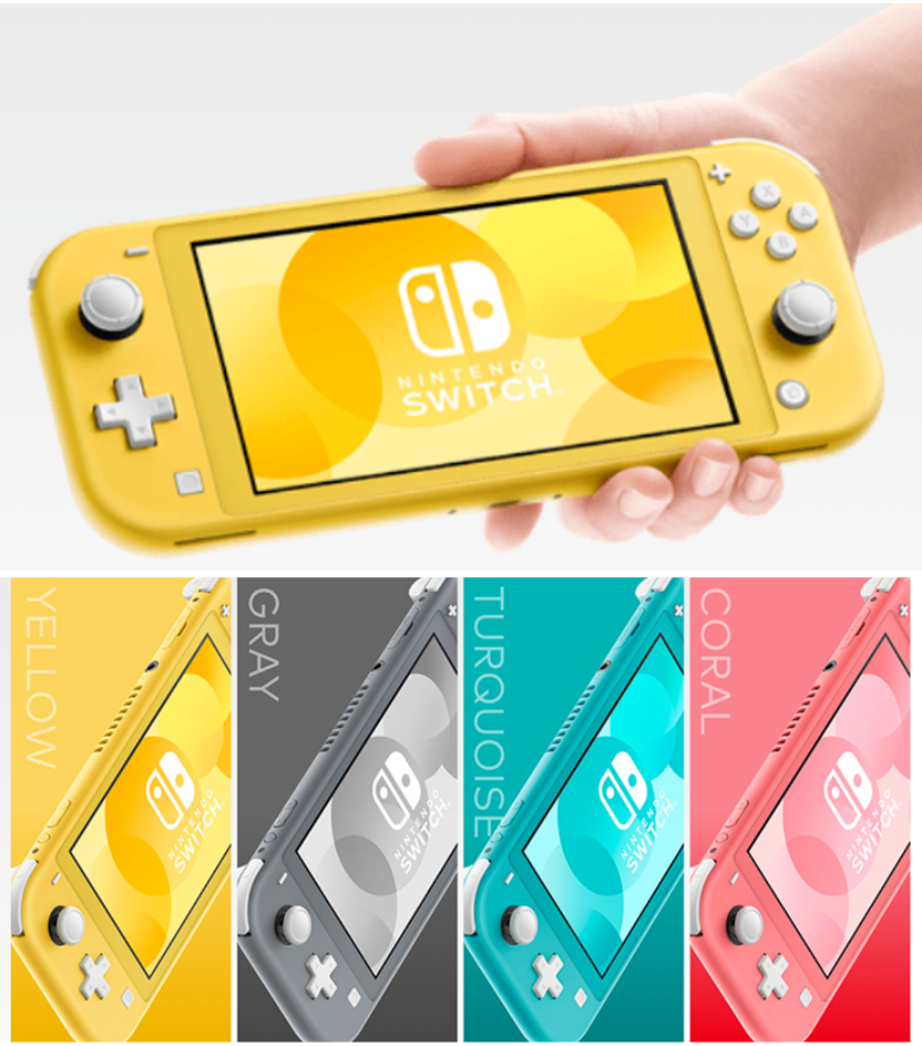 NEW Nintendo Switch Lite Handheld Console - PICK COLOR