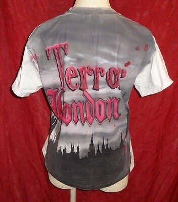 2009 TERROR OF LONDON MAZE Knotts Halloween Haunt Shirt XL Knott's Scary Farm - Halloween Scary Maze