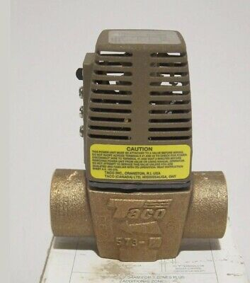 Taco 573-2 Zone Valve 1-14 Sweat New Old Stock