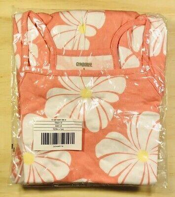Girls Coral And White Floral Dress Gymboree - New Factory Packaged Free Shipping](Floral Girls)