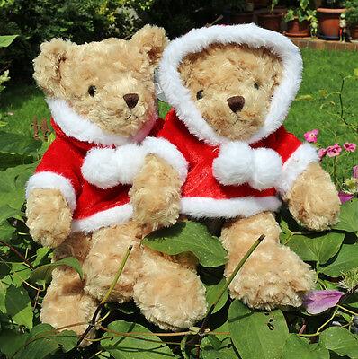 Förster Teddy Weihnachtsbär 32 cm (6350) NEU Stoffbär Kuschelbär Weihnachten