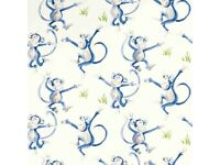 2 x Laura Ashley Wallpaper Cheeky Monkey